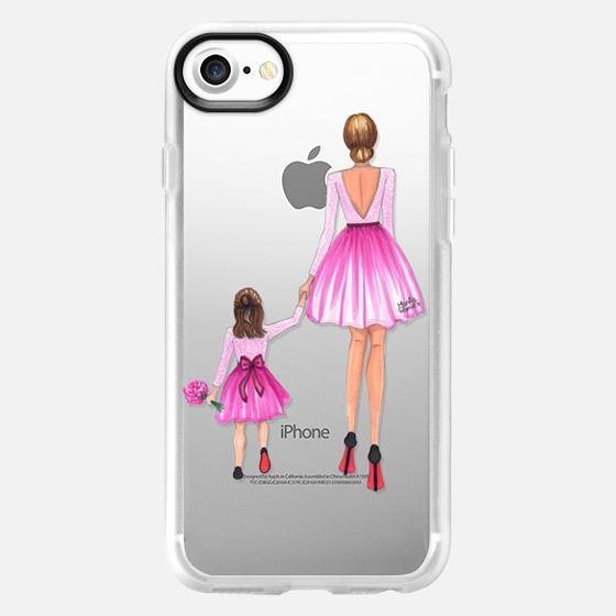 Mother Daughter Love (Pink) - Wallet Case
