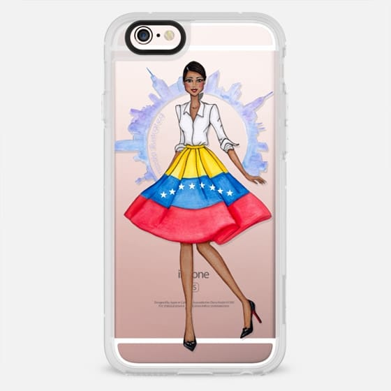 Venezuelan in NYC by Moda Illustrated - New Standard Case