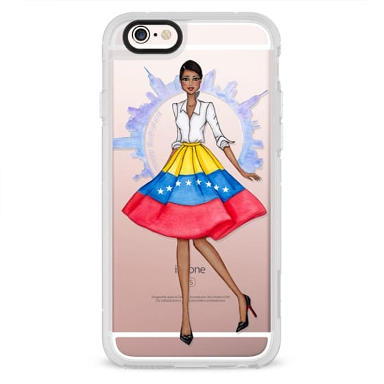 iPhone 6s Cases - Venezuelan in NYC by Moda Illustrated