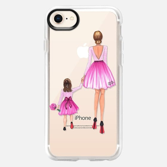 Mother Daughter Love (Pink) - Snap Case