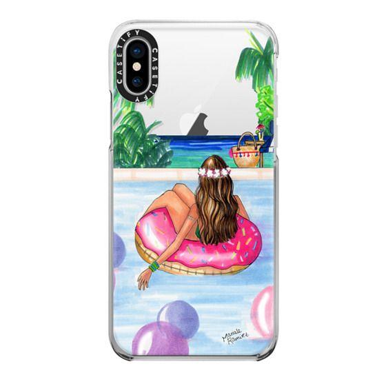 iPhone X Cases - Poolside Mermaid (Summer Love)