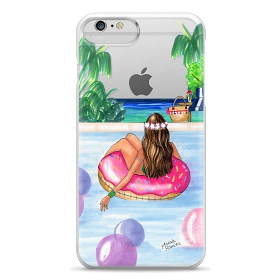 iPhone 6 Plus Cases - Poolside Mermaid (Summer Love)