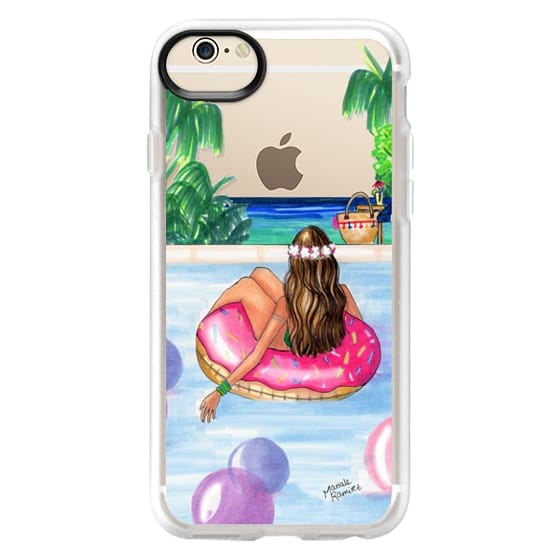 iPhone 6 Cases - Poolside Mermaid (Summer Love)