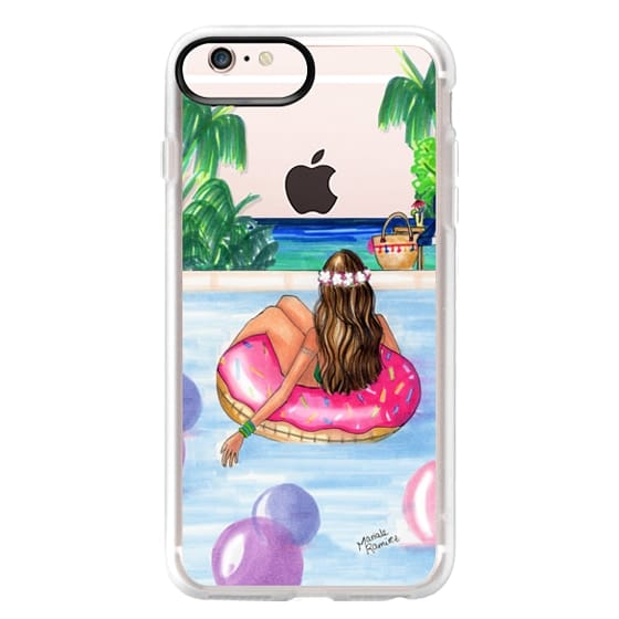 iPhone 6s Plus Cases - Poolside Mermaid (Summer Love)