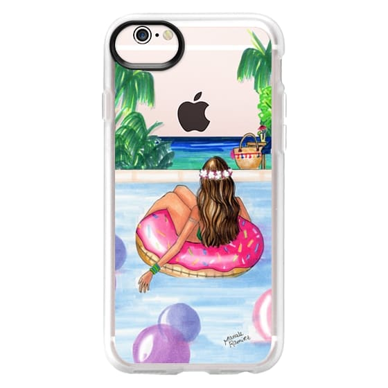 iPhone 6s Cases - Poolside Mermaid (Summer Love)