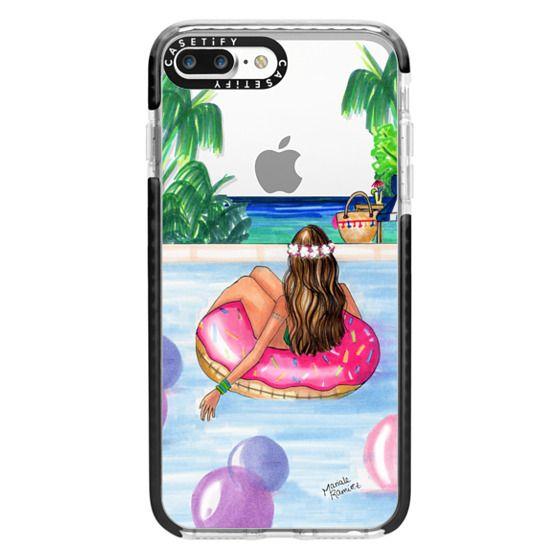 iPhone 7 Plus Cases - Poolside Mermaid (Summer Love)