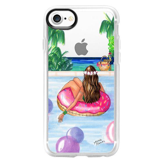 iPhone 7 Cases - Poolside Mermaid (Summer Love)