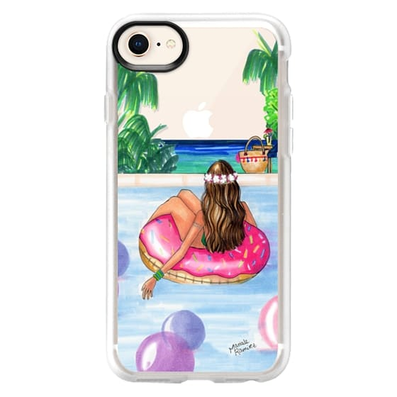 iPhone 8 Cases - Poolside Mermaid (Summer Love)
