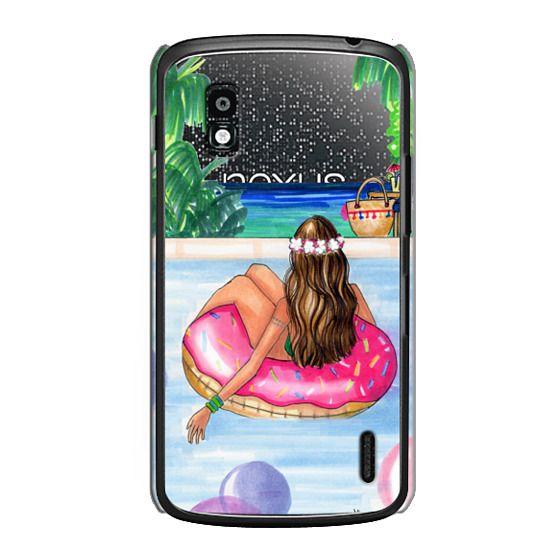 Nexus 4 Cases - Poolside Mermaid (Summer Love)