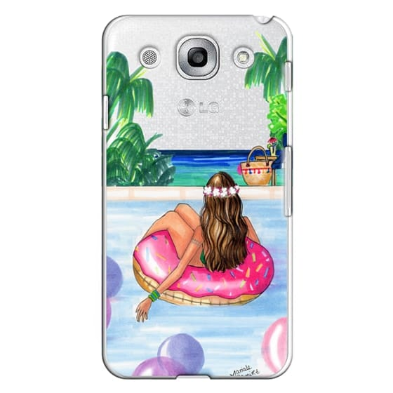 Optimus G Pro Cases - Poolside Mermaid (Summer Love)