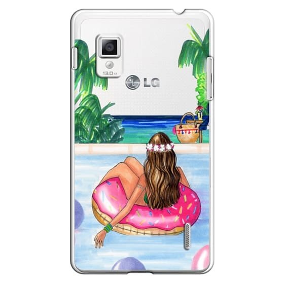 Optimus G Cases - Poolside Mermaid (Summer Love)