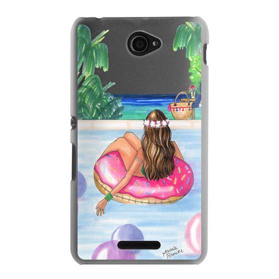 Sony E4 Cases - Poolside Mermaid (Summer Love)