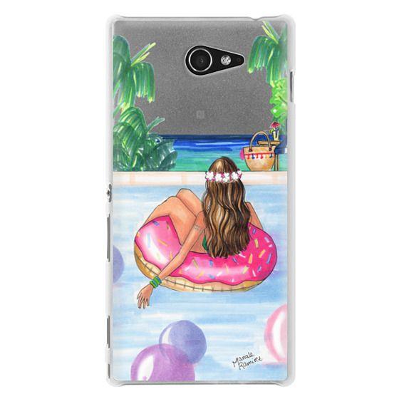 Sony M2 Cases - Poolside Mermaid (Summer Love)
