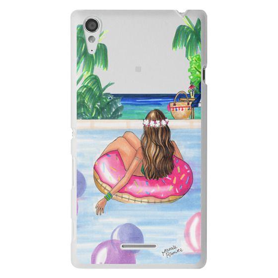 Sony T3 Cases - Poolside Mermaid (Summer Love)