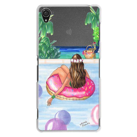 Sony Z3 Cases - Poolside Mermaid (Summer Love)