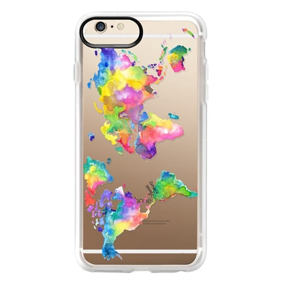 iPhone 6s Plus Cases - Watercolor My World