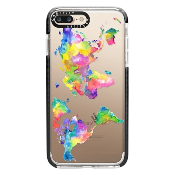 iPhone 7 Plus Cases - Watercolor My World