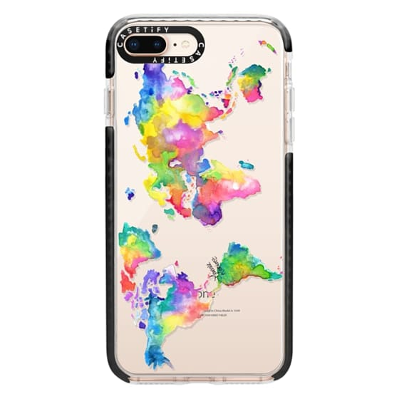 iPhone 8 Plus Cases - Watercolor My World