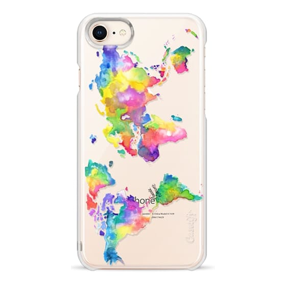 iPhone 8 Cases - Watercolor My World