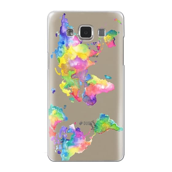 Samsung Galaxy A5 Cases - Watercolor My World