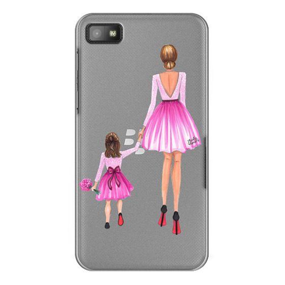Blackberry Z10 Cases - Mother Daughter Love (Pink)