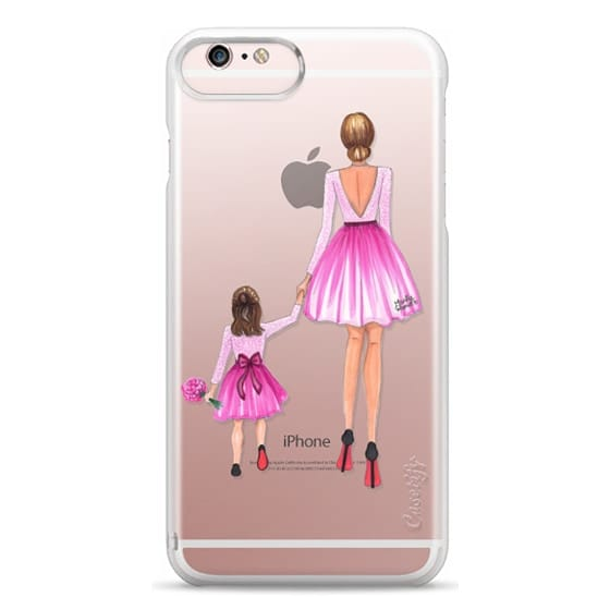 iPhone 6s Plus Cases - Mother Daughter Love (Pink)