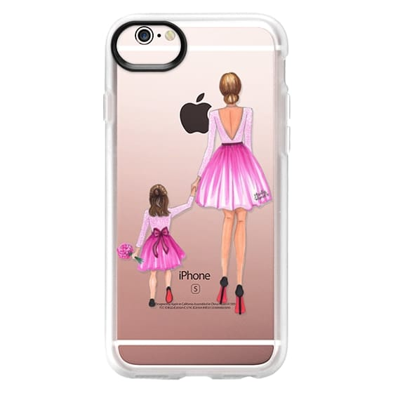 iPhone 6s Cases - Mother Daughter Love (Pink)