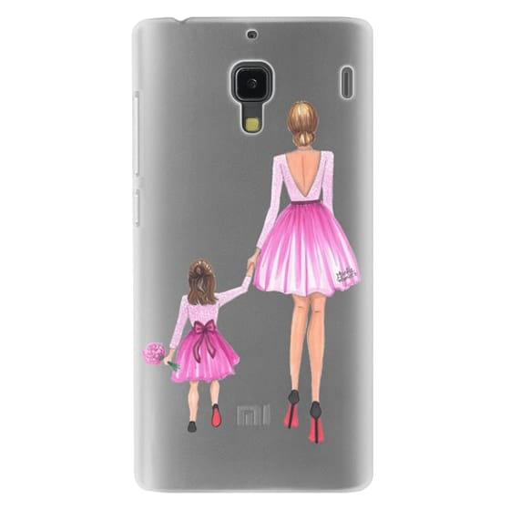 Redmi 1s Cases - Mother Daughter Love (Pink)