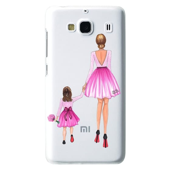 Redmi 2 Cases - Mother Daughter Love (Pink)