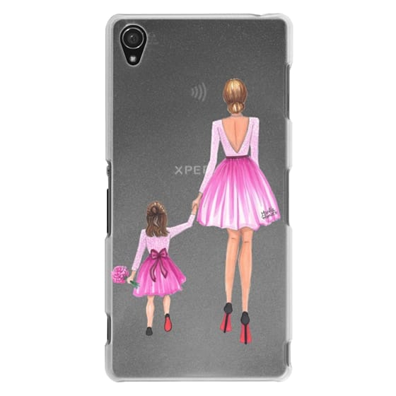 Sony Z3 Cases - Mother Daughter Love (Pink)