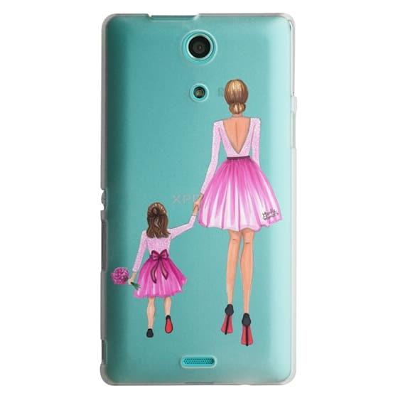 Sony Zr Cases - Mother Daughter Love (Pink)