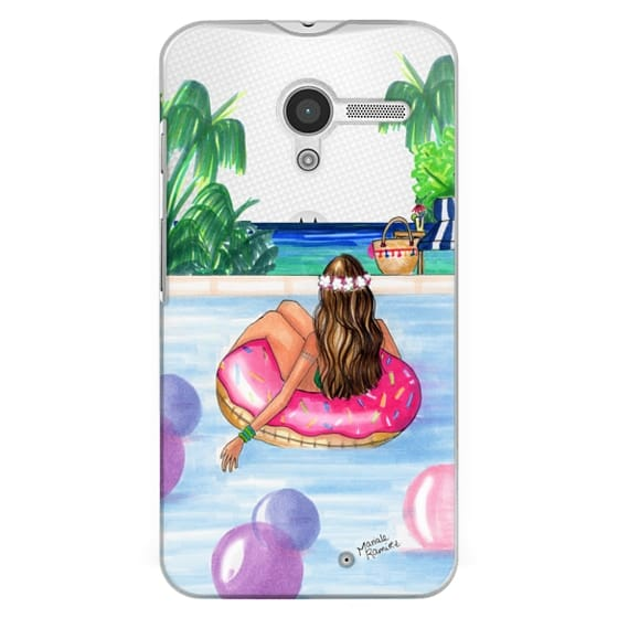 Moto X Cases - Poolside Mermaid (Summer Love)