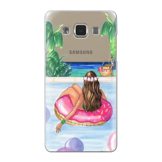 Samsung Galaxy A5 Cases - Poolside Mermaid (Summer Love)