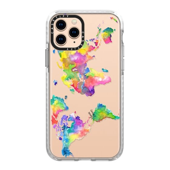 iPhone 11 Pro Cases - Watercolor My World