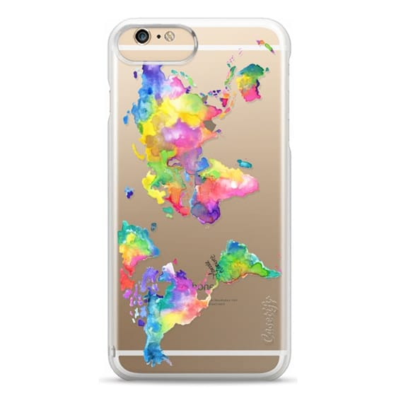 iPhone 6 Plus Cases - Watercolor My World