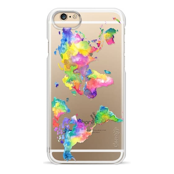 iPhone 6s Cases - Watercolor My World