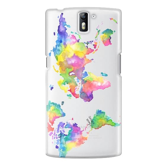 One Plus One Cases - Watercolor My World