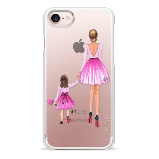 iPhone 7 Cases - Mother Daughter Love (Pink)