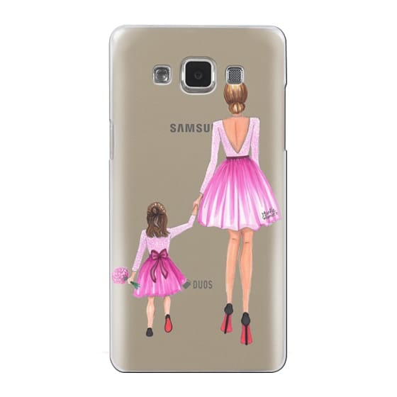 Samsung Galaxy A5 Cases - Mother Daughter Love (Pink)