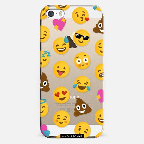 Emoji Love Transparent Case - Nour Tohme - Classic Snap Case