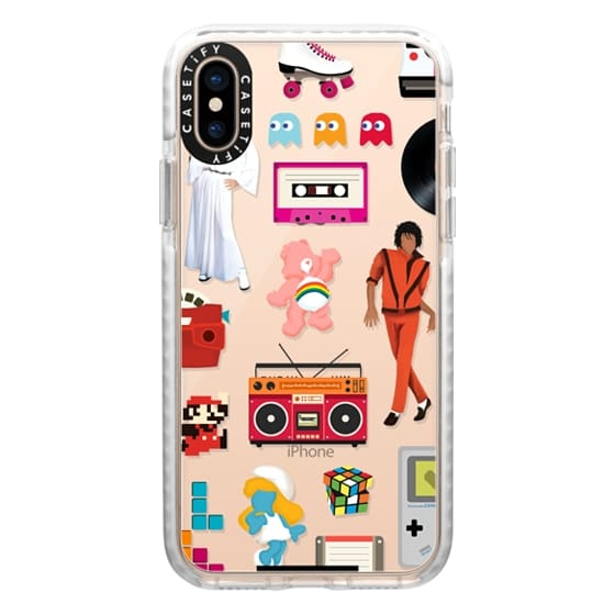 iPhone XS Cases - Acceptable in the 80s Transparent Case