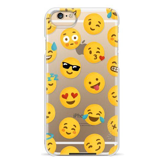 iPhone 6 Cases - Emoji Love Transparent Case - Nour Tohme