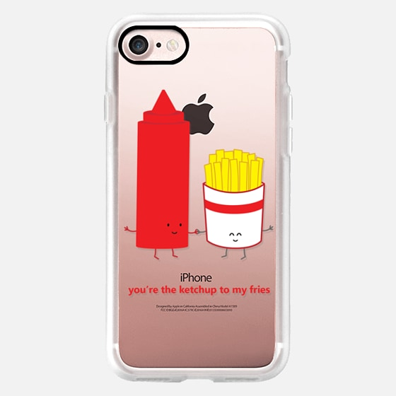 You're the Ketchup to My Fries - Wallet Case