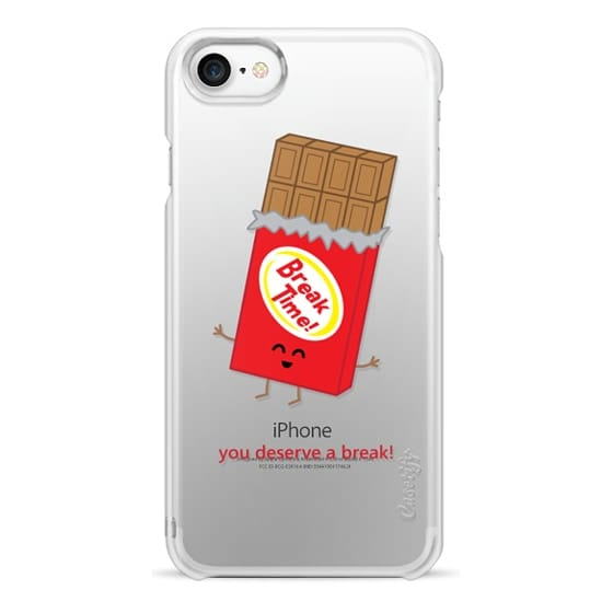 iPhone 7 Cases - You Deserve a Break! (Chocolate)
