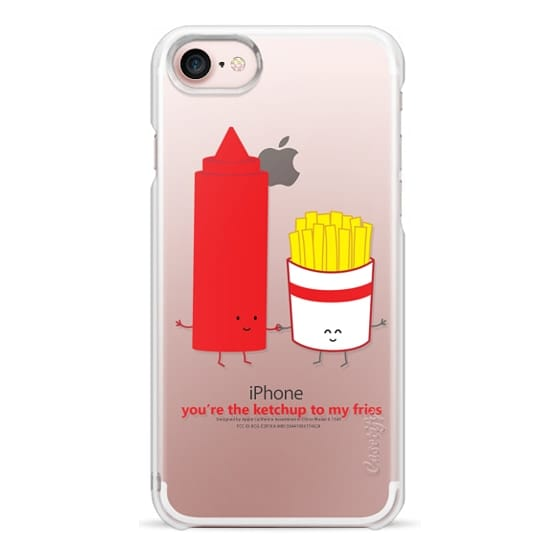 iPhone 7 Cases - You're the Ketchup to My Fries