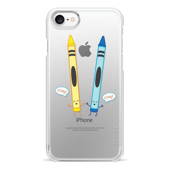 iPhone 7 Cases - CRAY CRAY CRAYONS