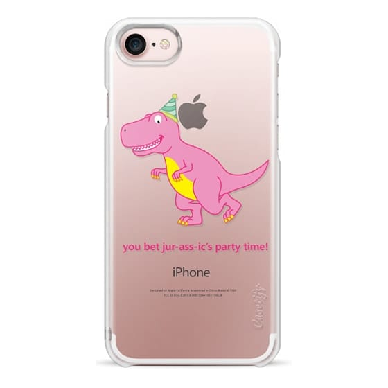 iPhone 7 Cases - You Bet Jur-ass-ic's Party Time!