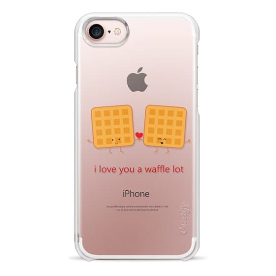 iPhone 7 Cases - I Love You a Waffle Lot