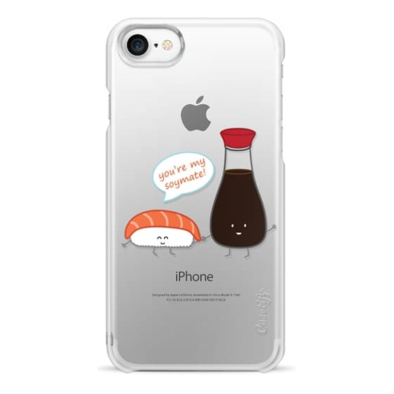 iPhone 7 Cases - You're My Soymate! (sushi)