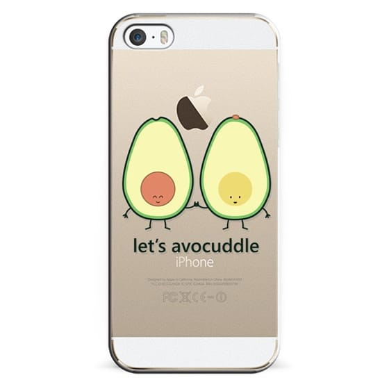 the best attitude 11077 05ade Classic Snap iPhone 5s Case - Let's Avocuddle (avocado)